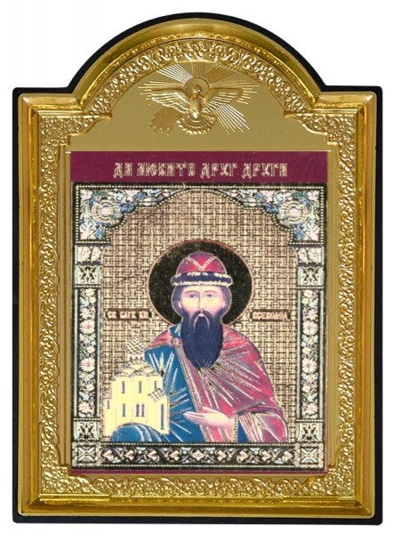 Икона Святой благоверный князь Всеволод Псковский и Новгородский