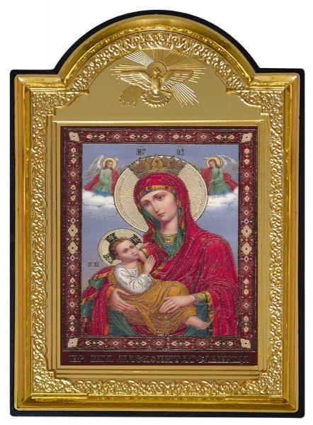 """Икона Божией Матери с молитвой """"Млекопитательница"""""""