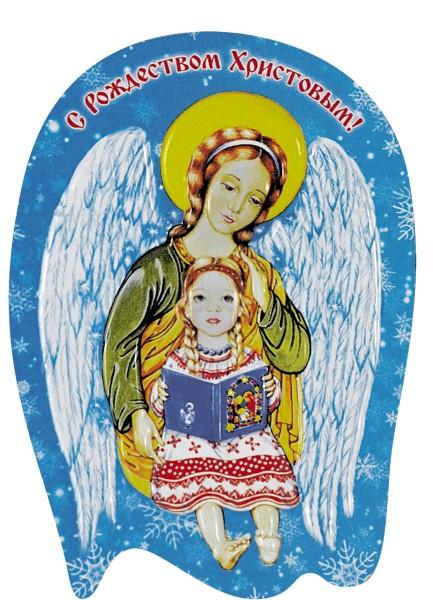 """Магнит объемный """"С Рождеством Христовым"""""""