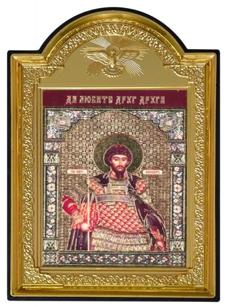 """Икона """"Святой великомученик Феодор (Федор) Стратилат"""""""