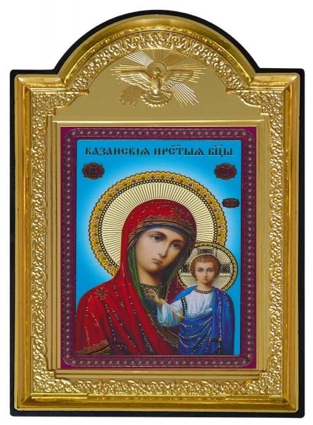 Икона Божией Матери с молитвой «Казанская»