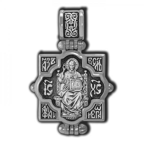 Мощевик: Господь Вседержитель. Икона Божией Матери Всецарица.