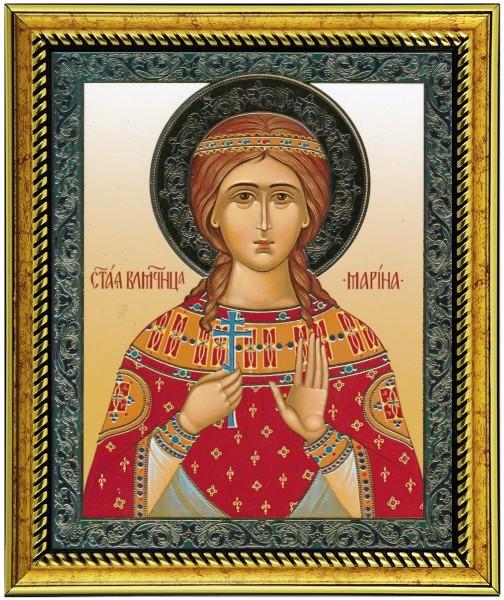 Икона Святая великомученица Марина Антиохийская