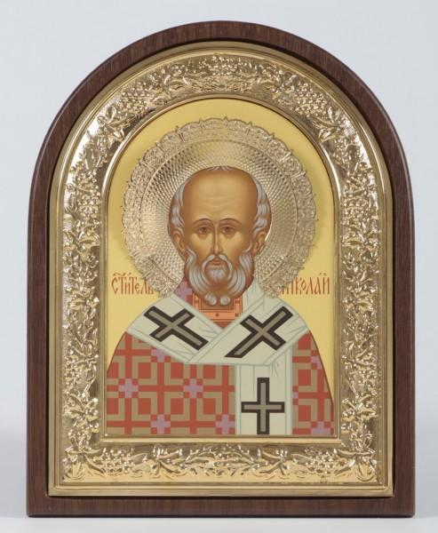 Икона в ризе Николай Чудотворец