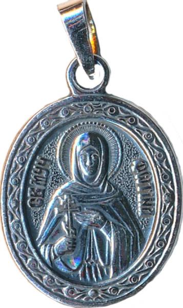 Именная нательная икона Светлана, женские имена
