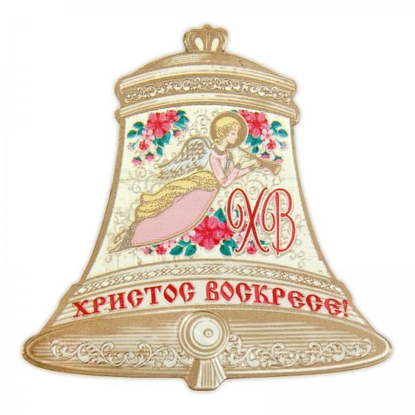 """Магнит пасхальный """"Колокольчик ангел"""""""