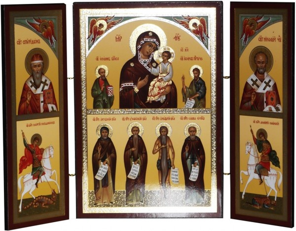 Икона Божьей Матери «В Скорбех и Печалех Утешение»