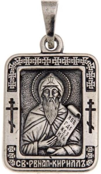 Именная нательная икона Кирилл, мужские имена