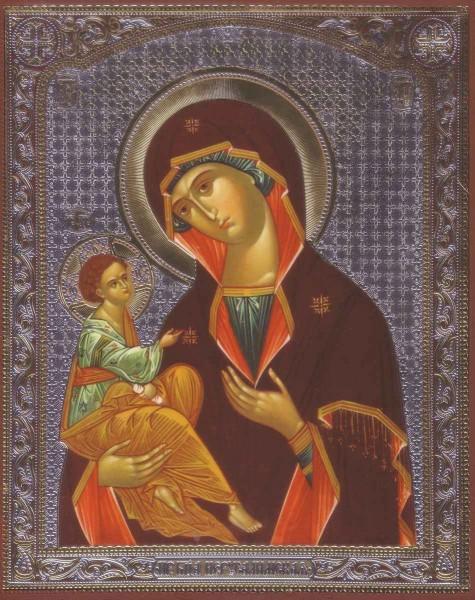"""Икона Божией Матери """"Иерусалимская"""""""