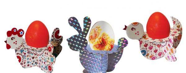 Декоративные подставки под яйца