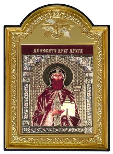 """Икона """"Святой князь Даниил Московский"""""""