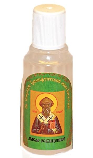 Масло освещенное Спиридон Тримифунтский