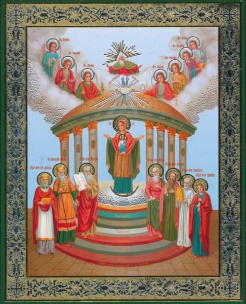 Икона Божией Матери «София-премудрость Божия (Семистолпная)»