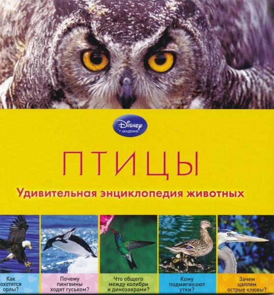 Птицы. Удивительная энциклопедия животных. Disney