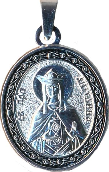 Именная нательная икона Ангелина, женские имена