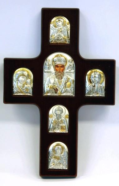 Крест многоместный Святой Николай Чудотворец