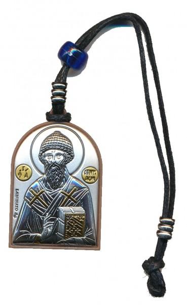 Автомобильная православная подвеска святой Спиридон / Ангел Хранитель
