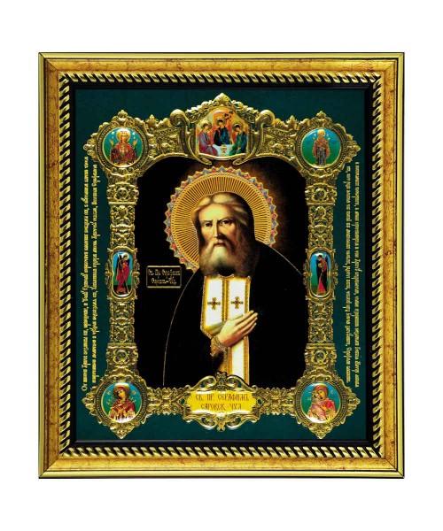 Икона Святой преподобный Серафим Саровский