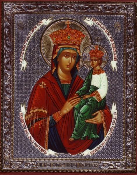 """Икона Божией Матери """"Споручница грешных"""""""