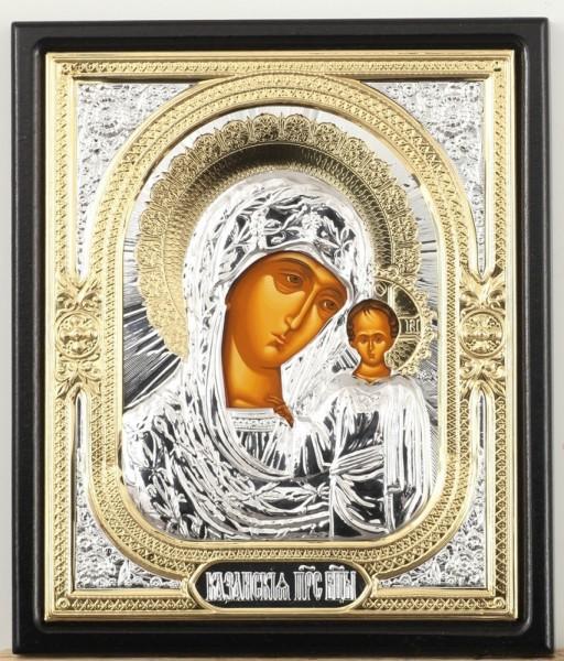 Икона в ризе Казанская Божья Матерь