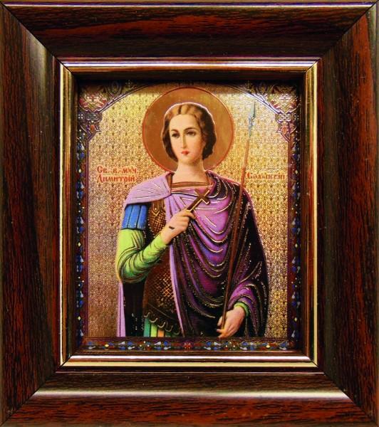 Икона Св. Великомученика Димитрия Солунского