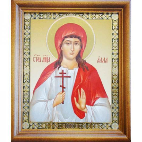 Икона Святая Мучениця Алля Готфская