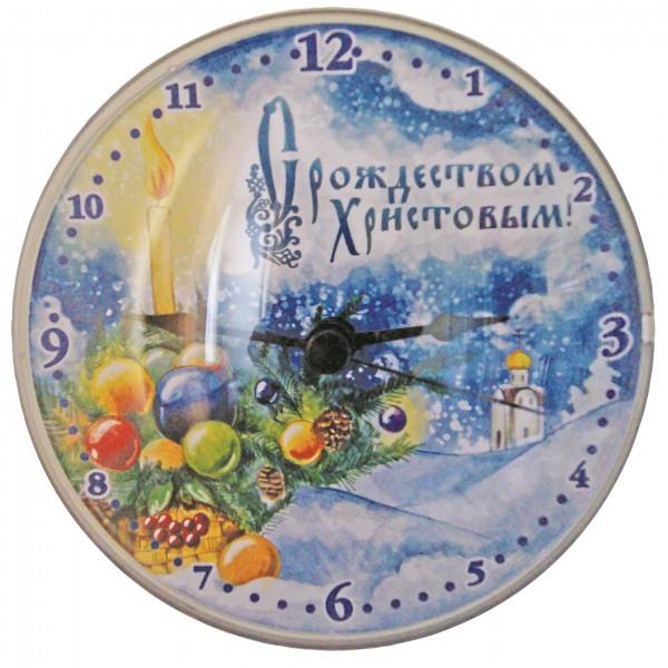 Часы-магнит на xолодильник