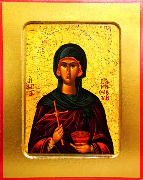 Икона Святой мученицы Параскевы Пятницы