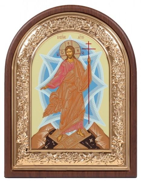 Икона в ризе Воскресение Христово